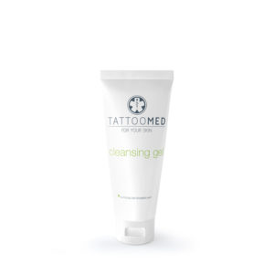 mild og skånsom vask for ny tatovering tattoomed cleansing gel