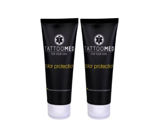 TattooMed color protection beskytter mot fading og UV stråling